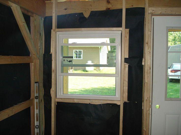 Установка окон и дверей