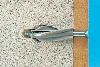 Как подобрать крепёж для пеноблоков