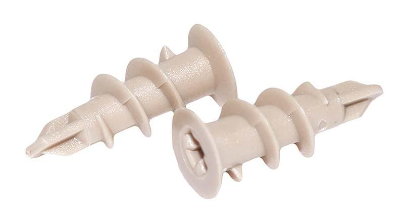 Пластиковый дюбель для пеноблока